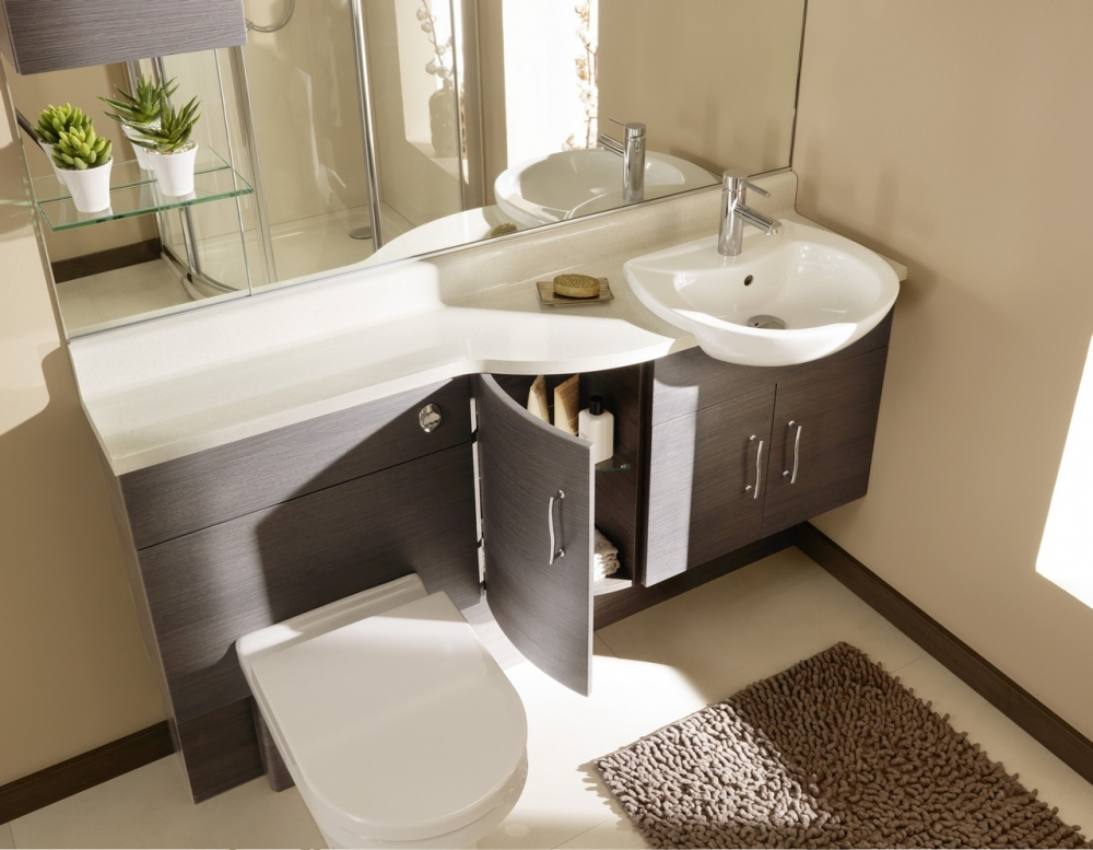 Pin Fitted Bathroom Furniture Designs Elegant Fitted Bathroom ...